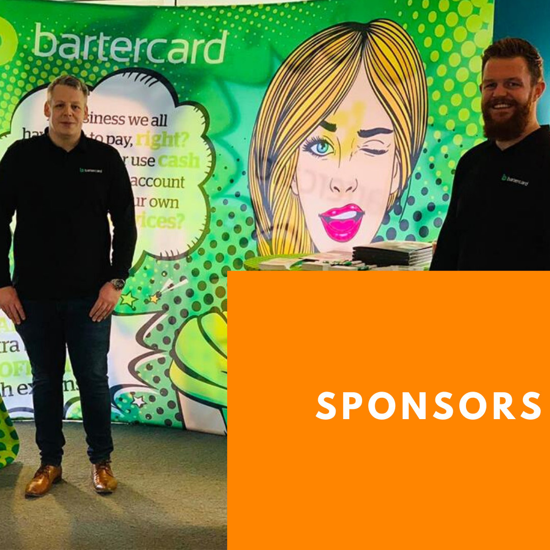 Bartercard are main sponsors of Hashtag Events